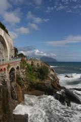Passeggiata Anita Garibaldi, Genova Nervi, Liguria