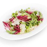 salad. isolated on white background
