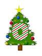 Alphabet Christmas Joy O