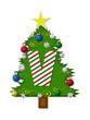 Alphabet Christmas Joy V