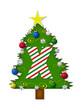Alphabet Christmas Joy X