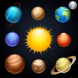 Fototapety planets