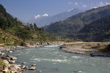 River Manaslu trekking