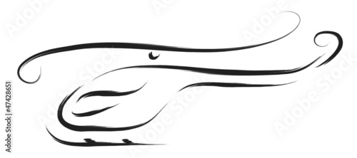 abstract helicopter vector