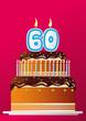 Anniversaire Gateau_60 ans