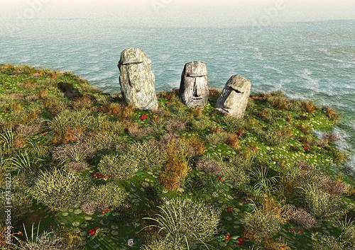 Moai Isola di Pasqua
