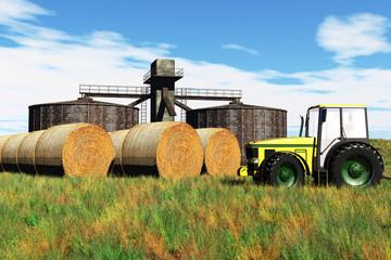 Agriculture Concept 3D render