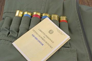 Porto d'armi per uso caccia