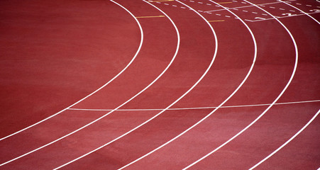 Pista di atletica leggera, corsa