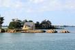 Leinwandbild Motiv Chapelle dans le golfe du Morbihan