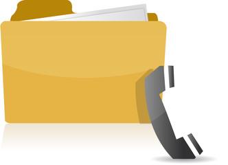 contact us folder