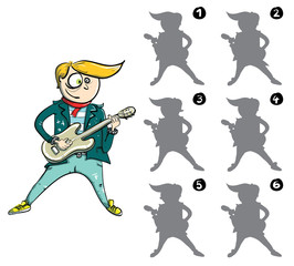 Find Mirror Image of Guitarist ... solution No. 6
