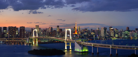 Tokyo Bay Panorama