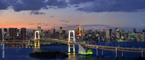 Tokyo Bay Panorama|47437439