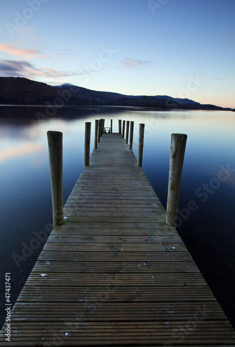 Evening Light on Ashness Pier