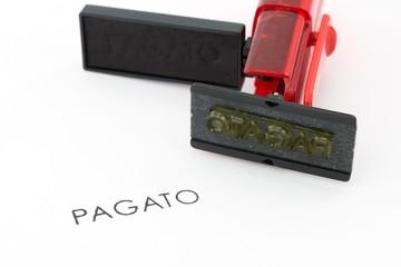 timbro Pagato