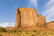 The Butte is a giant sandstone formation in the Monument valley