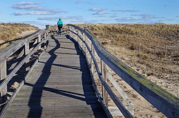 Boardwalk at beach