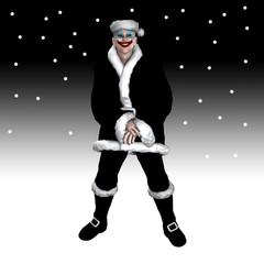 Scary Christmas Santa