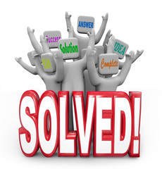 Solved People Cheering Solution Answer Plan Goal Achieved