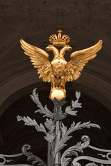 Golden two-headed eagle