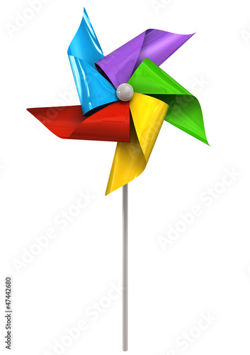Colorful Pinwheel Front