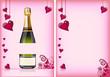 Getränkekarte zum Valentinstag