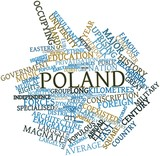 Word cloud for Poland
