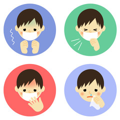 風邪の症状/男の子