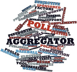 Word cloud for Poll aggregator