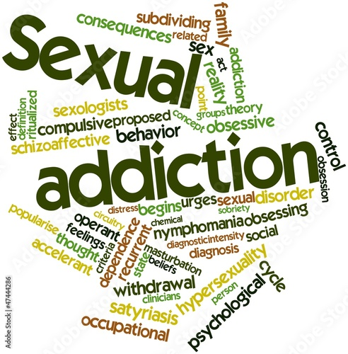 Word cloud for Sexual addiction