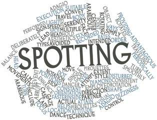 Word cloud for Spotting