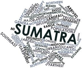 Word cloud for Sumatra