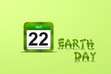 Earth day. poster