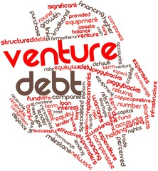 Word cloud for Venture debt