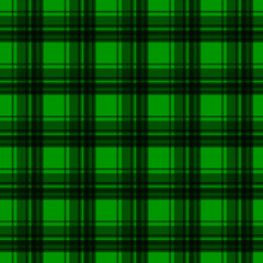 Green flannel background