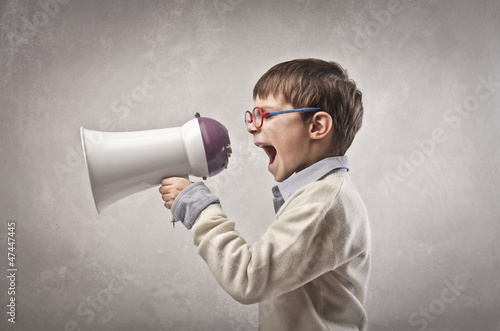 Child in the Megaphone