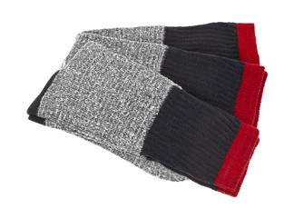 Men's heavy cotton socks neatly folded