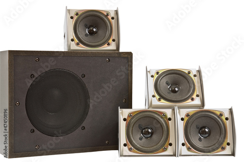 Hi fi speakers