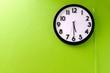 Leinwanddruck Bild - Clock showing 5:30 o'clock