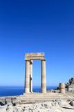 Fototapeta Rodos - wiek - Ruiny