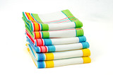 Stack of dishtowels