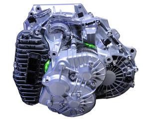 bloc moteur de véhicule hybride
