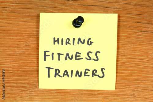 Fitness career - hiring fitness trainers