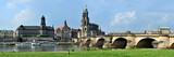 Dresden,  Stadtblick von der Elbe