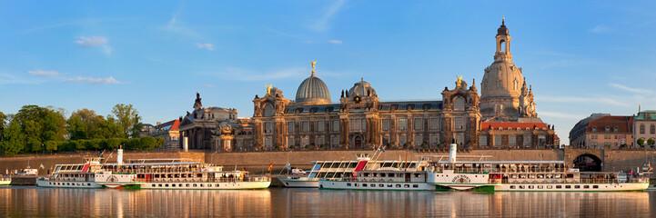 Dresden, Blick auf die Brühlsche Terasse