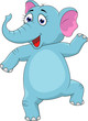 baby elephant dancing