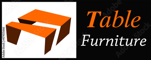 table furniture logo