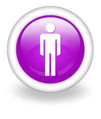 "Violet Icon ""Men's Restroom"""