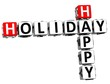 3D Happy Holiday Crossword